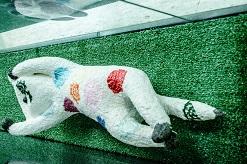貓咪創作達人,讓新板藝廊被貓包圍了